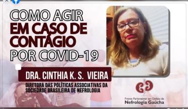 """Dra. Cinthia Vieira, Diretora de políticas associativas da SBN sobre """"Pacientes renais crônicos e a pandemia do coronavírus"""""""