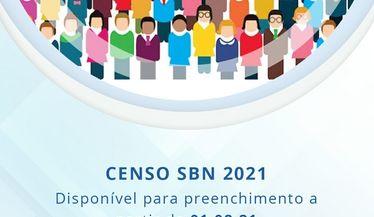 O censo 2021 estará disponível para preenchimento a partir de 1º de agosto de 2021. Participe!