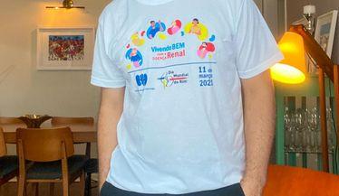 Tiago Lopes apoia a campanha do Dia Mundial do Rim
