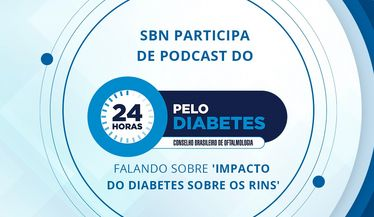 "SBN participa do evento ""24 horas pelo diabetes"""