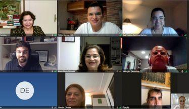 Reunião do Registro Brasileiro para Eliminação da Hepatite C nas Unidades de Diálise com as lideranças do projeto na Região Nordeste