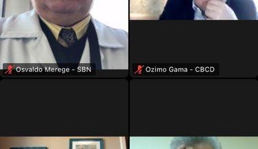 SBN, representada por seu Presidente, Dr. Osvaldo Merege Vieira Neto se reúne com o CFM para tratar sobre telemedicina