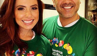 Casal Mantelli apoia a campanha do Dia Mundial do Rim