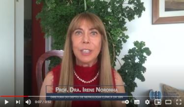 Confira o recado da Dra. Irene sobre o primeiro módulo do Curso de Atualização da SBN