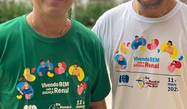 João Neto e Frederico apoiam a campanha do Dia Mundial do Rim
