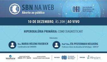 SBN NA WEB: Hiperoxalúria Primária: Como diagnosticar?