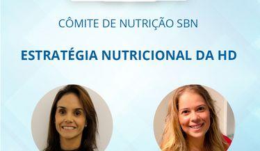"""Assista a live do comitê de nutrição sobre """"Estratégia Nutricional da HD"""""""